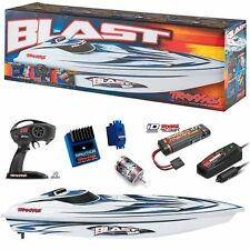 Traxxas 38104-1 Blast Electric Race Boat w/ TQ Radio / iD Battery / Charger