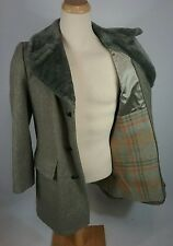 Minty Vtg Sears Men's OG Hollywood Gangster Overcoat Jacket Mod Surf Retro 40 L