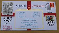 CHELSEA V LIVERPOOL EUROPEAN CUP SEMI FINAL 2005 BUCKINGHAM COVER VARIOUS H/S