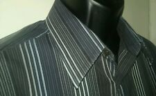 Versace sz54 long sleeve striped shirt Made in Italy
