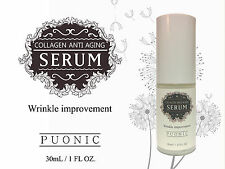 30ml COLLAGEN ANTI AGING WRINKLE SERUM HYALURONIC ACID HYDRATION FIRM LIFT PLUMP