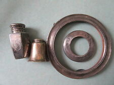 Antique Sterling Silver Shakers and Round Picture Frames