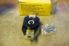 NEW Hubbell HBL2310 NEMA L5-20R Twist Lock Receptacle, Rated 20A, 125V