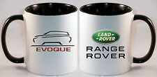 LAND ROVER RANGE ROVER EVOQUE CAR ART MUG GIFT CUP .