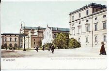 Residence All Holy Church Munich Germany Building Postcard Architecture