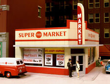City Classics 114 HO scale West End Super Market Kit           MODELRRSUPPLY-com