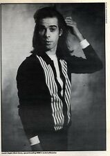 "15/8/92PGN03 8X7"" BLACK & WHITE PICTURE : NICK CAVE"