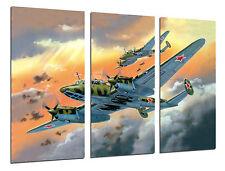 Cuadro Moderno Aviación, Dibujos Aviones Antiguos, Aviones de Guerra, ref. 26453
