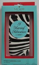 """Kate Spade """"I Married Adventure """" iPhone 5 Hard Case NEW IN BOX"""
