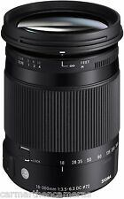 Sigma 18-300mm F3.5-6.3 c Dc Macro Os Hsm-Canon Fit