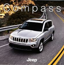 Jeep Compass 2012 catalogue brochure tcheque Czech rare