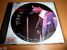 PRINCE rare INTERVIEW CD 45 minutes of PRINCE talking NO MUSIC