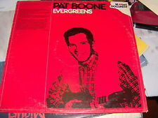 "LP 12"" PAT BOONE EVERGREENS KTEL ITALY 1980 N/MINT"