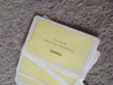 Monopoly, jeu complet de hasard cartes. véritable waddingtons pièces.