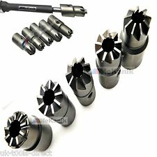 7pc Diesel Injector Seat Cutter Set Universal Injector Re-Face Tool SKD-11