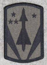 New Dealer Lot of 200 31st Air Defense Artillery BDE Patches, Sew-On, Subdued