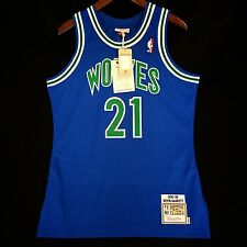 100% Authentic Kevin Garnett Mitchell & Ness Wolves NBA Jersey Size 40 M