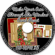Make Your Own Through The Window Card Fronts CD-ROM 15