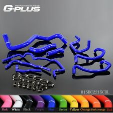 Silicone Radiator Hose Kit For Volkswagen 1999-2006 Golf Mk4 1.8T Turbo