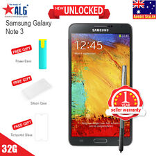 New in Sealed Box Unlocked Samsung Galaxy Note 3 N9005 13MP 4G 3GB/32GB Black