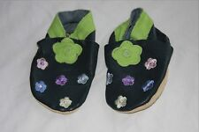 Daisy Roots soft leather baby bootees size S
