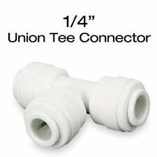 "John Guest Quick Connect Union Tee Connector 1/4"" - JG irrigation fitting qc"
