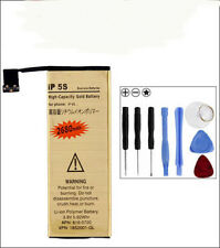 2680mAh High-Capacity Gold Replacement Battery for Apple iPhone 5S 5C 8in1 Tools