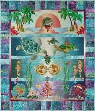 Tropical Noel Christmas Sea Ocean McKenna Ryan Pine Needles Quilt 4 Pattern Set