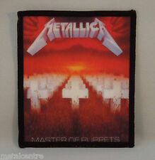 METALLICA Master Of Puppets (Printed Patch) (New)