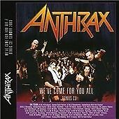 Anthrax - We've Come For You All CD (Summer Festival Edition, 2003)