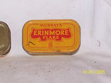 Antique Murray's Erinmore Flake Tobacco Tin Collectable From Northern Ireland