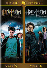 Harry Potter Double Feature: Year 3 & Year 4 (DVD, 2012)