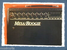 ar/ handmade greetings / birthday fathers day card music MESA BOOGIE GUITAR AMP