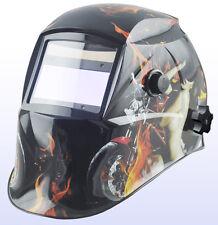 Auto Darkening Solar welders Welding Helmet Mask with Grinding H12 BIKER GIRL*