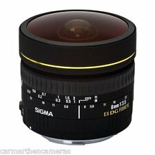 Sigma 8mm f3.5 Circular Fisheye EX DG For Canon