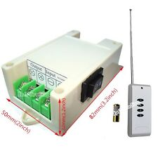 DC 12V/24V Wireless Remote Controller Kit for DC Motor Linear Actuator Door Open