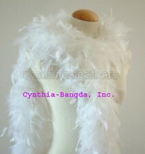 """65g 72""""long Chandelle Feather Boa, 35+ Solid Colors to pick up from, Cynthia's"""