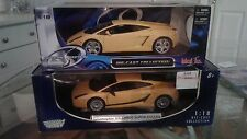 Maisto 2 car combo Lamborghini Gallardo and Lamborghini SuperLeggera 1:18