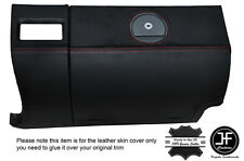 RED STITCHING GLOVE BOX LEATHER COVER FITS CHRYSLER CROSSFIRE 03-08
