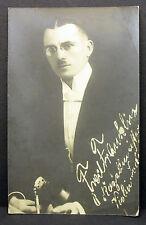 Unbekannter Musiker Violine Geige Komponist - Film Foto Autogramm-AK (Lot-H-3058