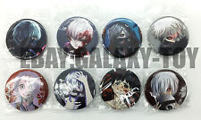 Tokyo Ghoul_C 4.3 CM 8x LOTS PIN back BADGES BUTTONS NEW PARTY BAG GIFT CLOTH