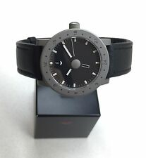 VENTURA Design on Time V-Matic Globe GMT Automatic Chronometer Titanium 39mm NEW