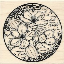 """Flower Poetry"" Rubber Stamp by Penny Black"