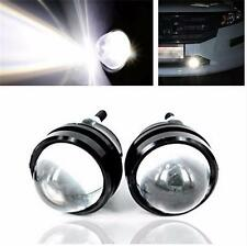 2 Pcs High Power Car Fish Eye White 9W CREE LED Projector Fog Light DRL Lamps