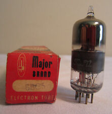 Major Brand 6BC5 Electron Electronic Vacuum Tube In Box NOS