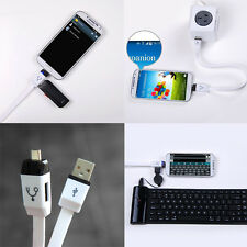 Multifunctional Smart Micro USB To USB Female Host OTG Cable Adapter Y Splitter