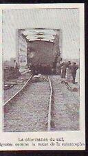 1907 - LES PONTS DE CE  RAILS APRES CATASTROPHE  P430