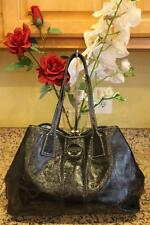 COACH - f15658 black patent KISS LOCK saatchel bag Pu (140