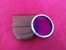 Minty rolleiflex/rollei bay baïonnette III/3 filtre rouge rollei 2.8F/2.8E/2.8GX rouge