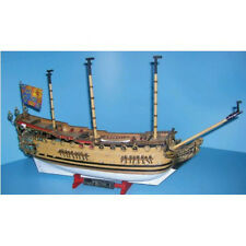 "Intricate, Authentic Wooden Model Ship Kit by Mamoli: the ""Prince"""